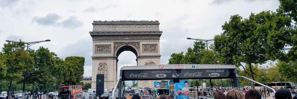 Arco del triunfo en Bus