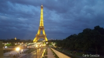 Torre Eiffel de lejos
