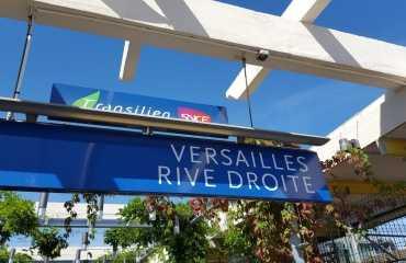 Salida de tren de Versalles